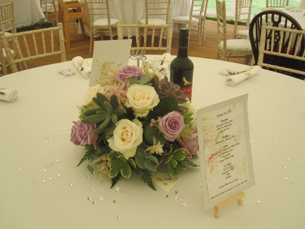 Table Centrepieces from £55