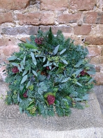 All Foliage Wreath